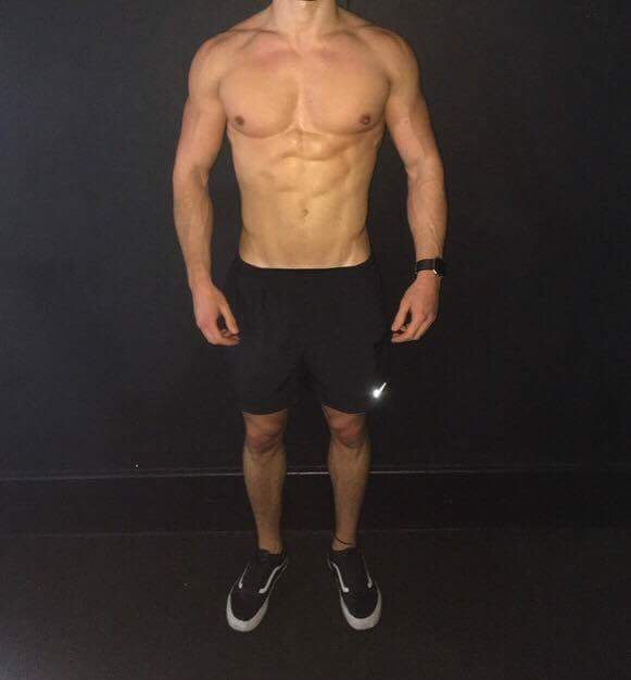 then Jake wanted to add some lean muscle tissue, from 75.3kg and is at 79.5kg and still lean.